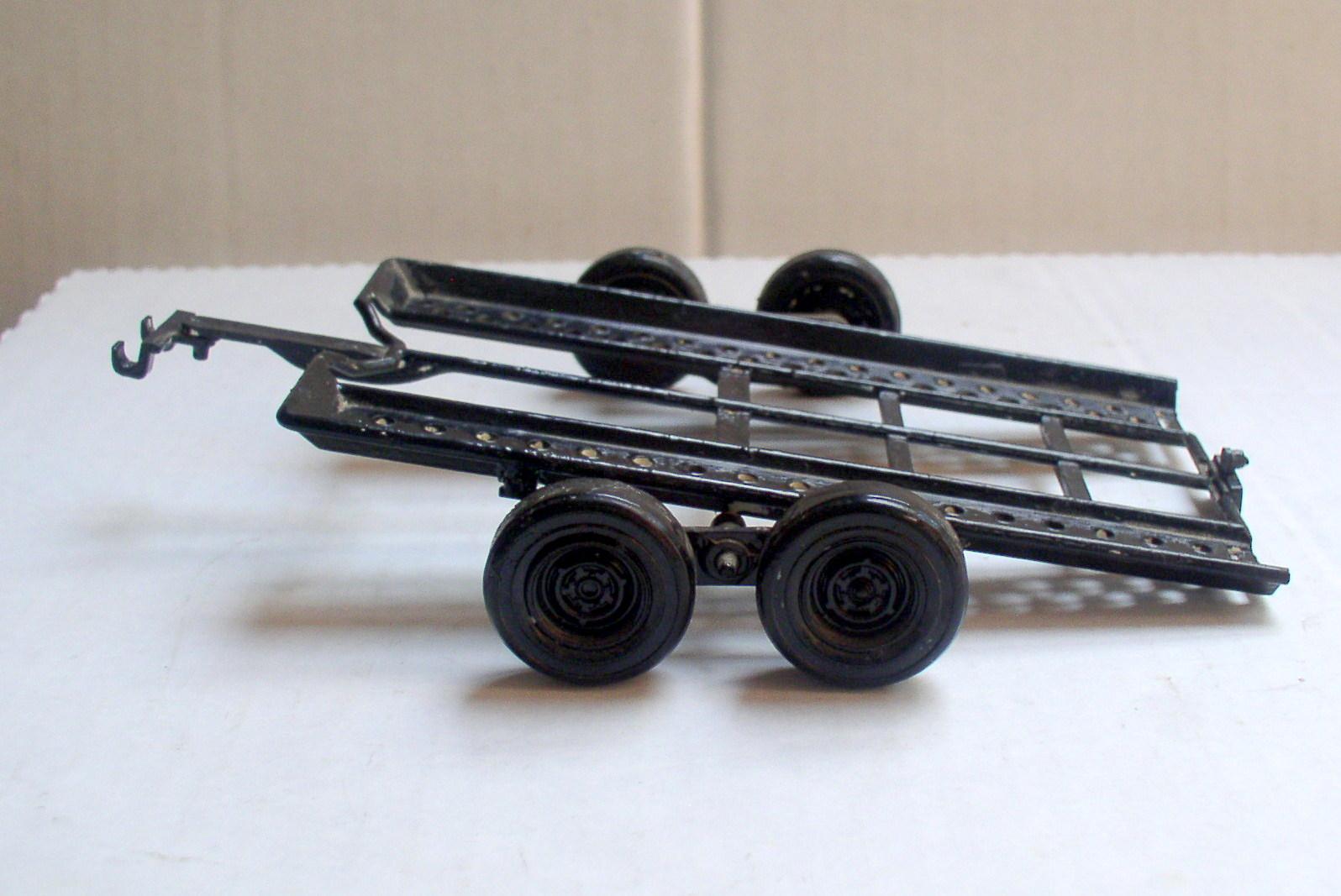 Tilt Trailer 1 25 Scale Black Plastic Wheels 1925 T Plate