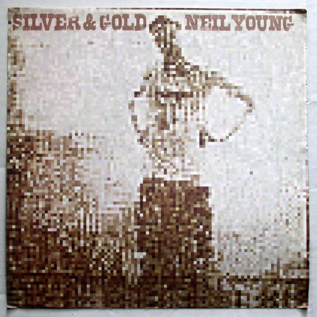 Promo Flat  Neil Young Silver And Gold 2