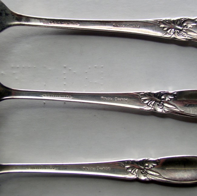 White Orchid Flatware 3