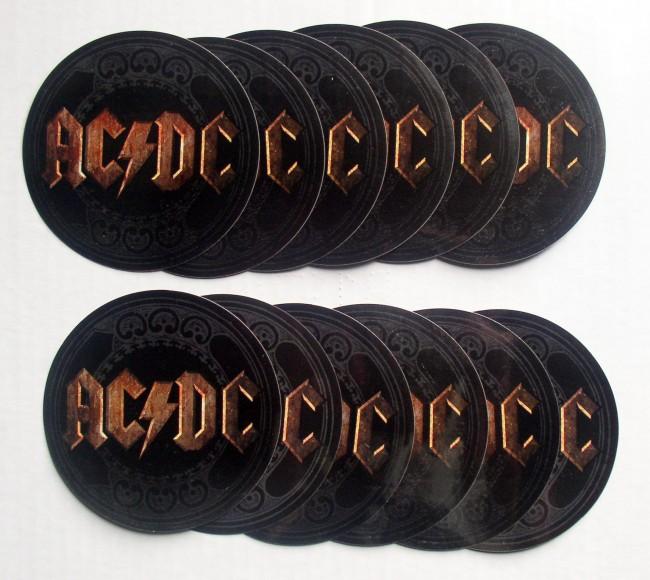 AC/DC Stickers 1