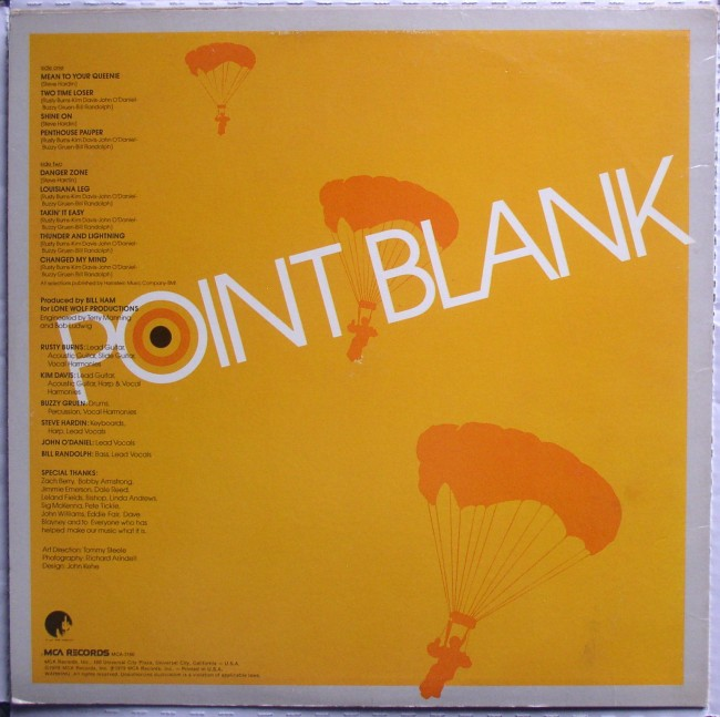 Point Blank / Airplay LP 2