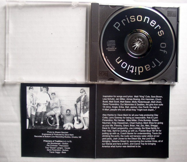 Prisoners Of Tradition CD 2