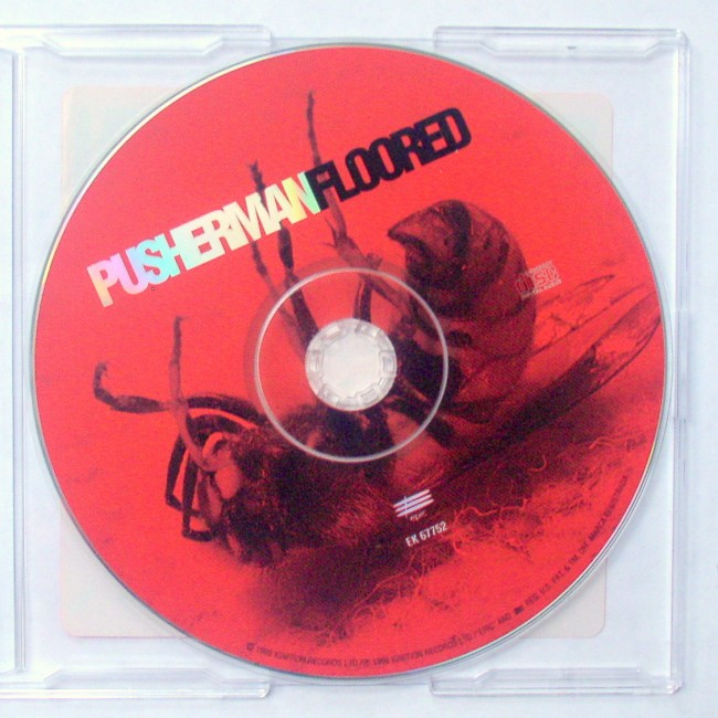 Pusherman / Floored Advance Promo CD 2