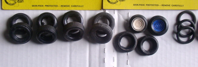 Assorted 1/25 Scale Rubber Tires 5
