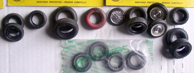 Assorted 1/25 Scale Rubber Tires 6