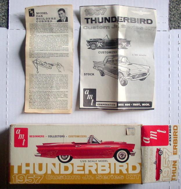 1957 Thunderbird Kit 1