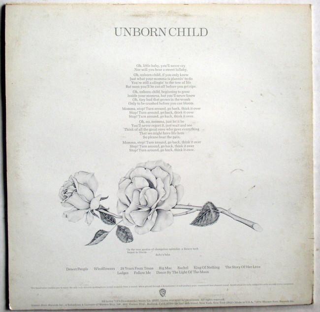 Seals & Crofts Unborn Child LP 2