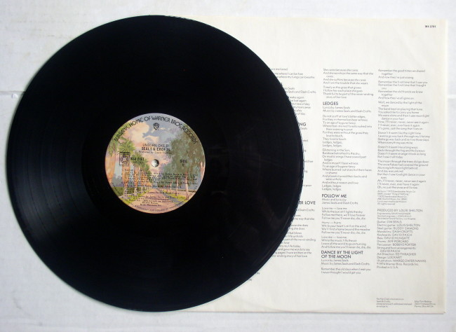 Seals & Crofts Unborn Child LP 4