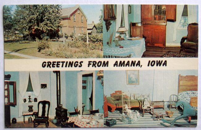 Amana Postcard 1