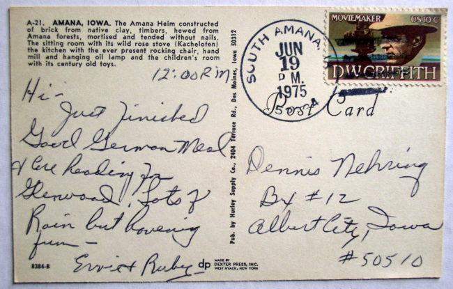 Amana Postcard 2