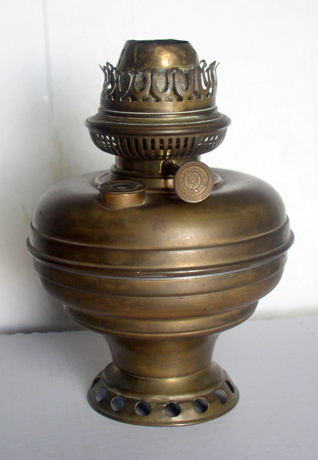 Empire Auto Sales >> American Belgian Center Draft Kerosene Oil Hanging Lamp ...