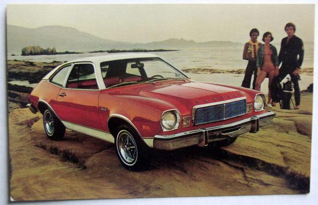 Mercury Bobcat Postcard 1