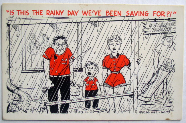 Rainy Day Postcard 1