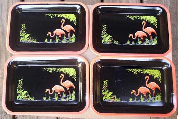 Flamingo Trays 1