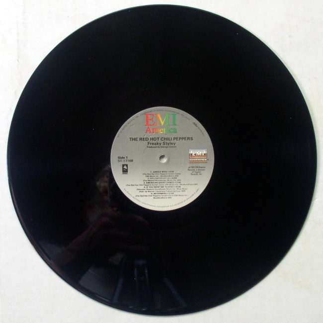Red Hot Chili Pepper Freaky Styley LP 5