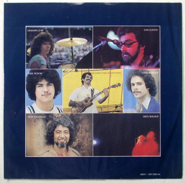 Santana Moonflower LP 3