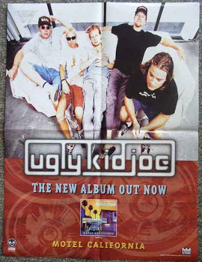 ugly kid joe motel california poster