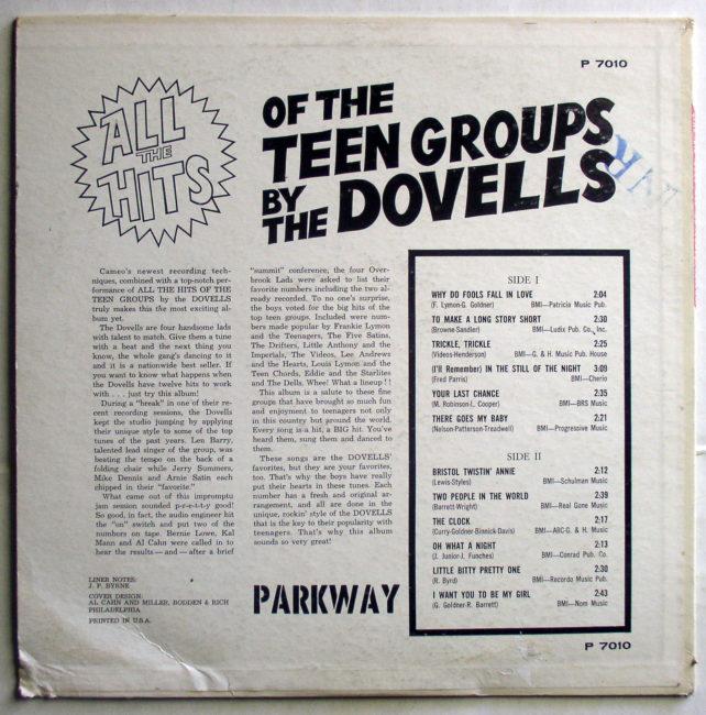 Dovells LP 2