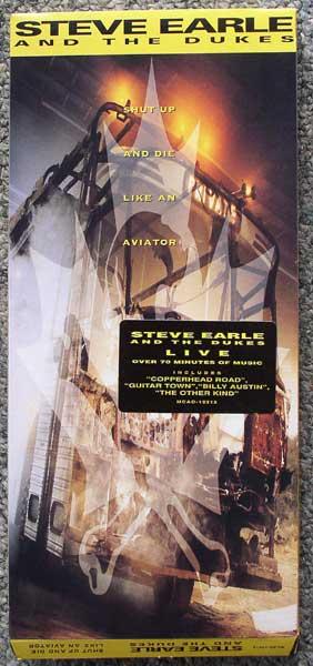 Steve Earle longbox front