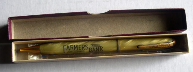 Farmers Bank Advertising Mechanical Pencil 1