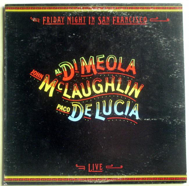 Di Meola, McLaughlin, De Lucia LP 1
