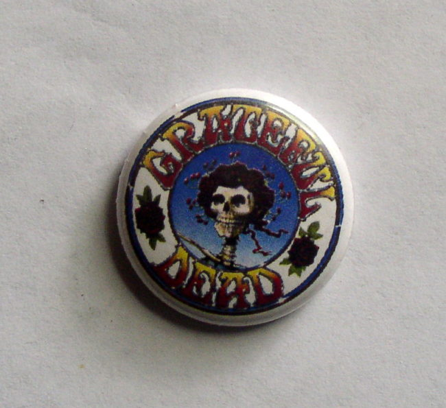 Grateful Dead Button Magnet 1