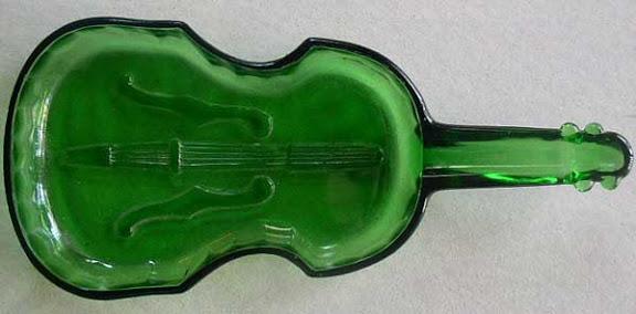 green glass violin 1