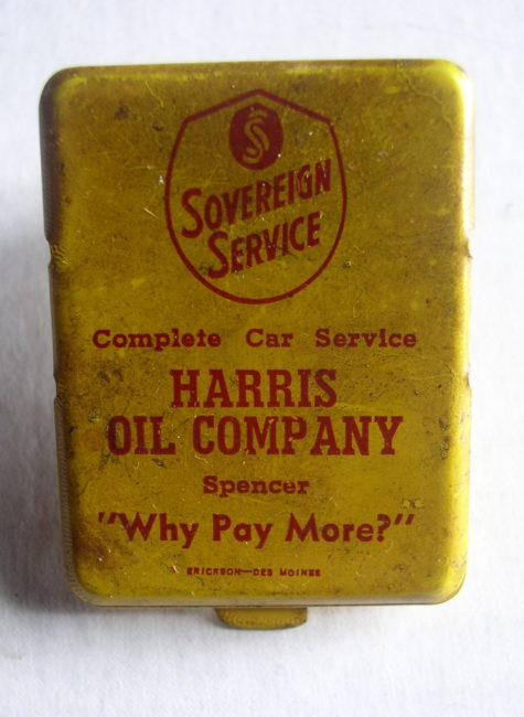 Harris Oil Spencer Clip 1