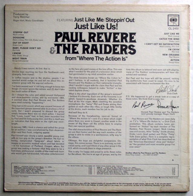 Paul Revere & Raiders LP 2