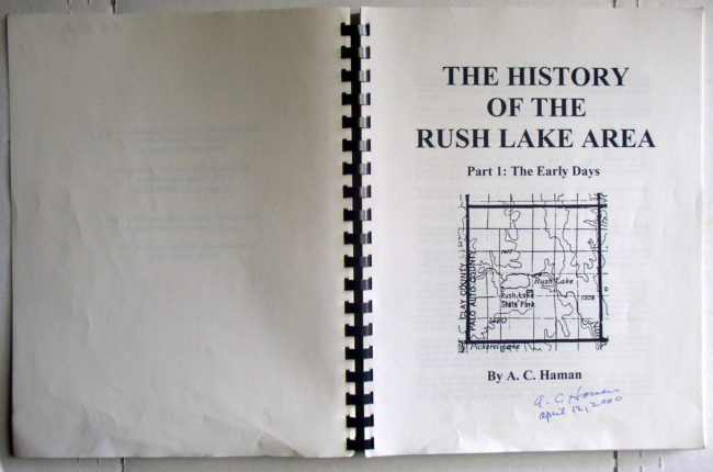 Rush Lake Book 3