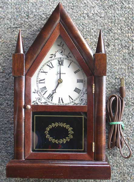 Empire Auto Sales >> Vintage Sessions Miniature Electric Steeple Clock – Thingery Previews Postviews & Thoughts