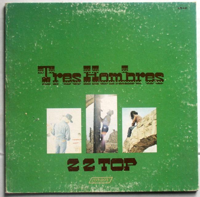 ZZ Top Tres Hombres LP 1