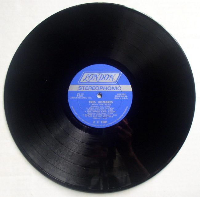ZZ Top Tres Hombres LP 4