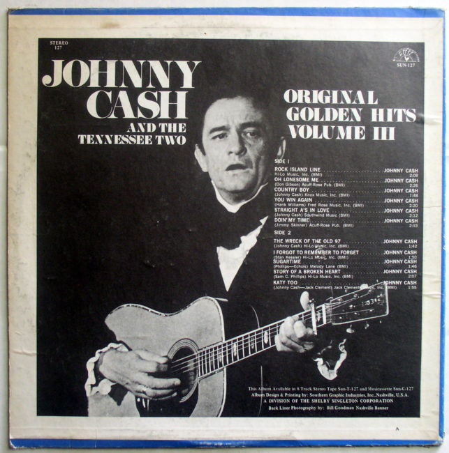 Johnny Cash Original Golden Hits II 2