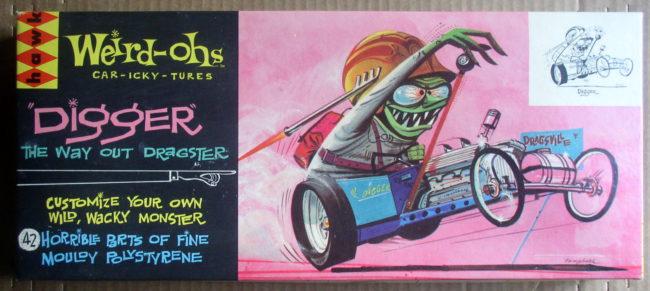 Hawk 1963 Weird-Ohs Digger #530 1