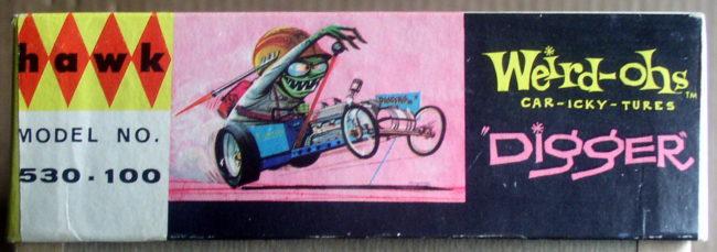 Hawk 1963 Weird-Ohs Digger #530 5