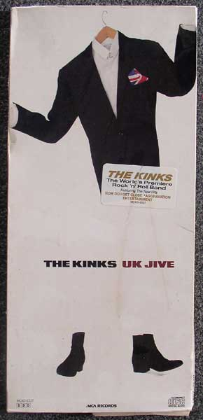 Kinks UK Jive Longbox