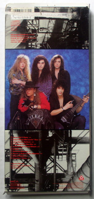 Steelheart Longbox back