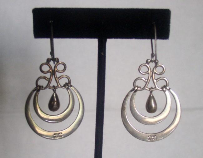Dangle Teardrop Earrings 2