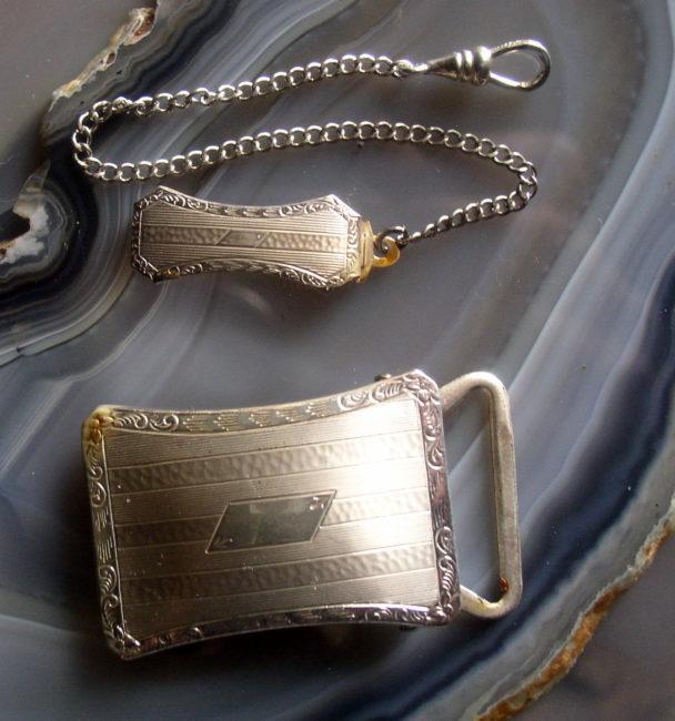 Belt Loop Chain & Buckle 1