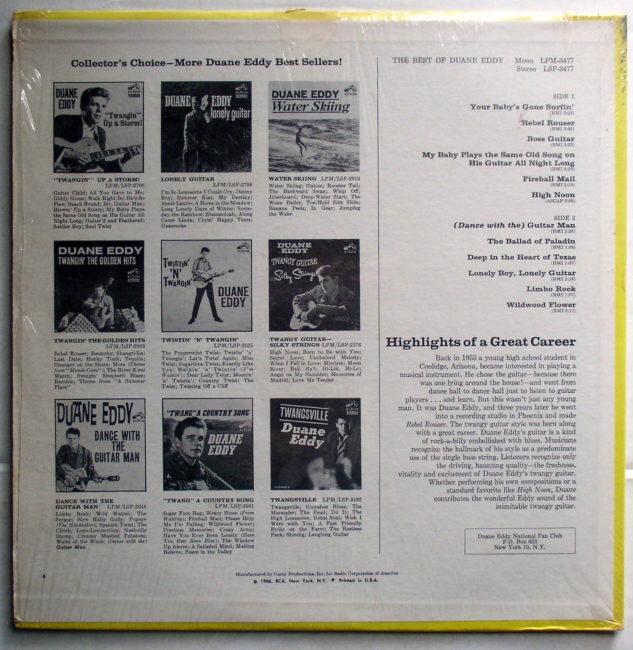 Duane Eddy LP 2