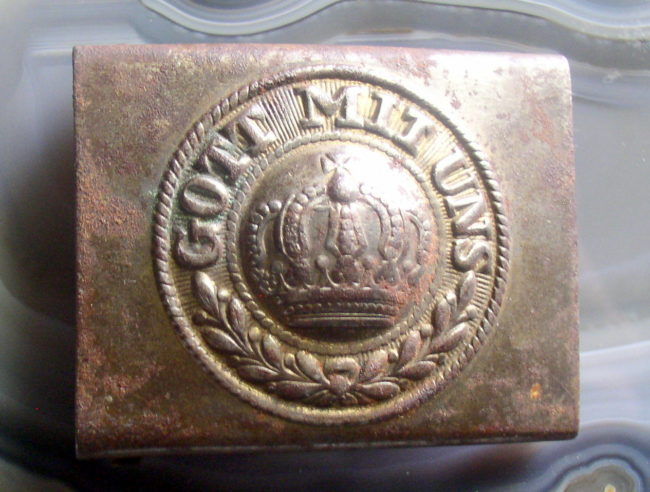 German Belt Buckle 1