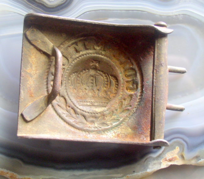German Belt Buckle 2