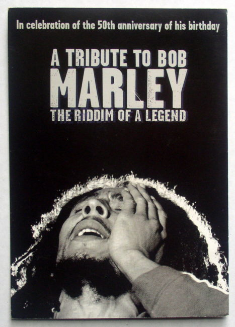 Marley Tribute Postcard 1