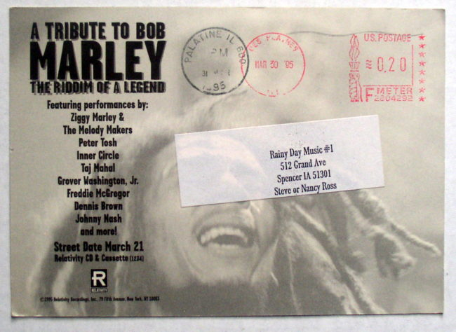 Marley Tribute Postcard 2