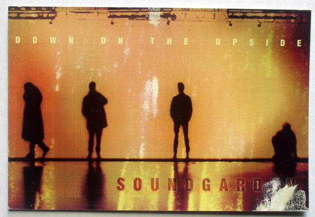 Soundgarden / Down On The Upside Postcard 1