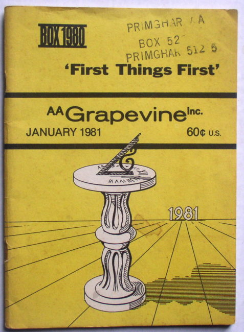Grapevine January 1981 1