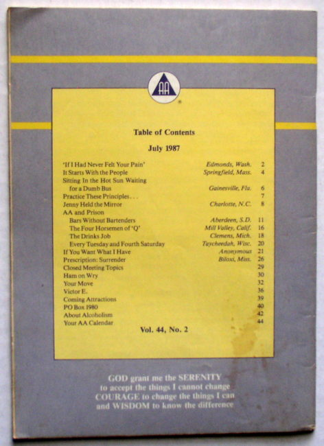 Grapevine July 1987 2
