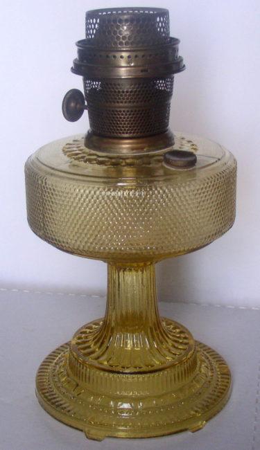 Amber Colonial Lamp 1