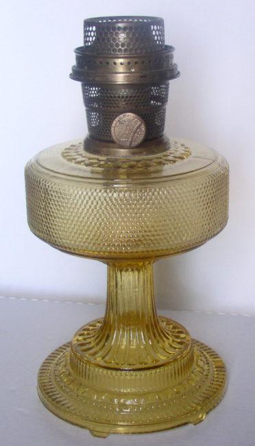 Amber Colonial Lamp 3
